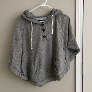 American Eagle Outfitters S Poncho sweatshirt